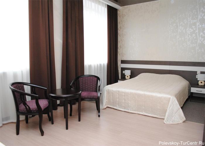 Номер 'Студия' гостиницы 'Талисман'*** в Северском