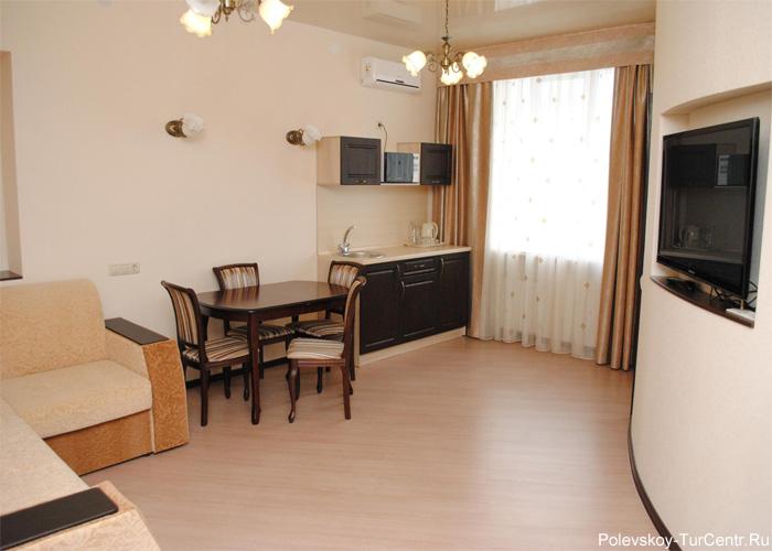 Апартаменты гостиницы 'Талисман'*** в Северском